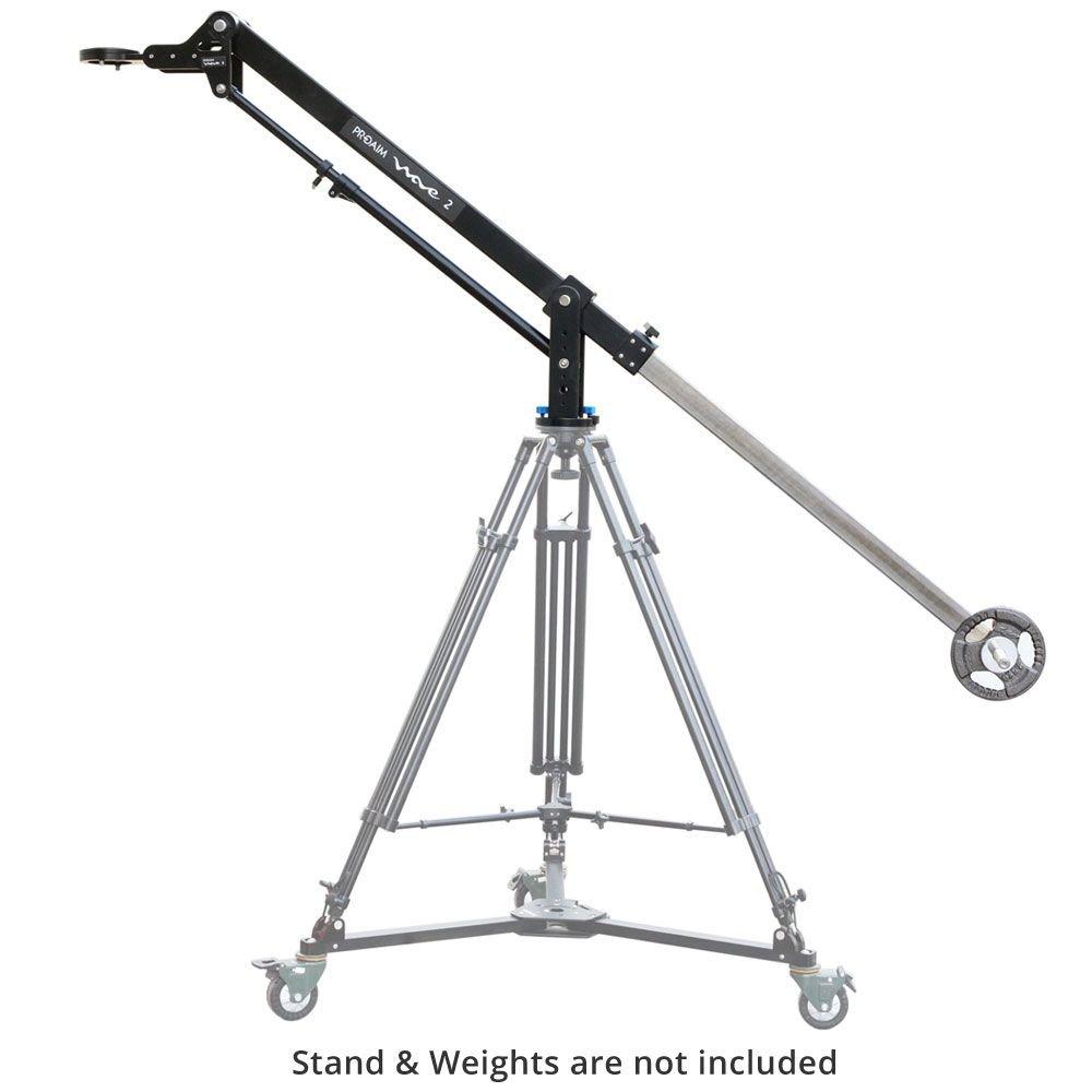 PROAIM 7' Wave-2 Video Jib Crane Supporting Cameras Weighing Upto 25kg / 55lbs by PROAIM