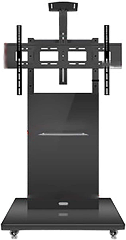CCAN Estante para Carrito de TV de pie, Soporte de Madera para Monitor móvil, Adecuado para Soporte de TV de 32-70 Pulgadas (Negro, Rojo, Amarillo) Beautiful Home