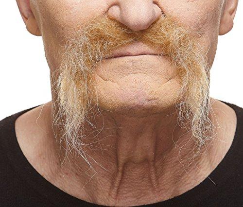 [Realistic Fu Manchu blond mustache] (Fu Manchu Costumes)