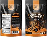 Carolina Reaper Peanuts small batch Super Jumbo Peanuts fused with the world's hottest pepper crunchy, sweet, intense and insanely addictive - Perfect gift for spicy food and hot snack lovers (Medium)