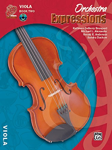 Orchestra Expressions, Book Two Student Edition: Viola, Book & CD by Alfred Music
