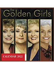 The golden girls calendar 2022: monthly calendar with nots section, great gift idea for all