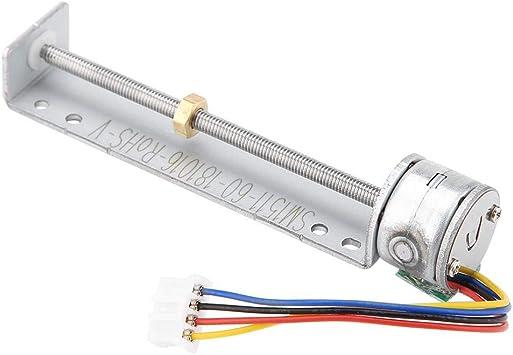 90mm Linear Screw Slider Stepper Motor 5V 2-phase 4-wire Pull Push Rod Actuator
