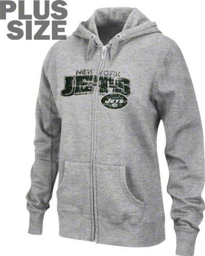 47022d2c Amazon.com : New York Jets Women's Plus Size Football Classic III ...