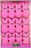 Marshmallow Peeps Pink Easter Bunnies 12ct