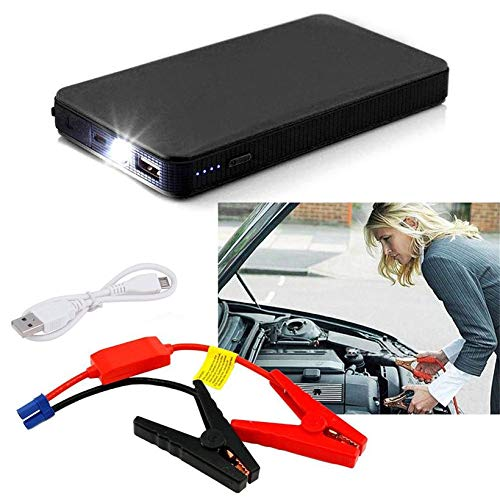 JICHUIO 12V 20000mAh Multifunctional Car Jump Starter Power Booster Battery Charger