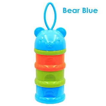 3139492a8693 Amazon.com : Weixinbuy Baby Milk Powder Food Portable Container, Non ...