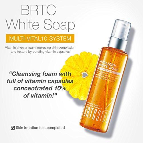 Amazon.com: brtc Vitalizer jabón blanco, Vitamina limpiador ...