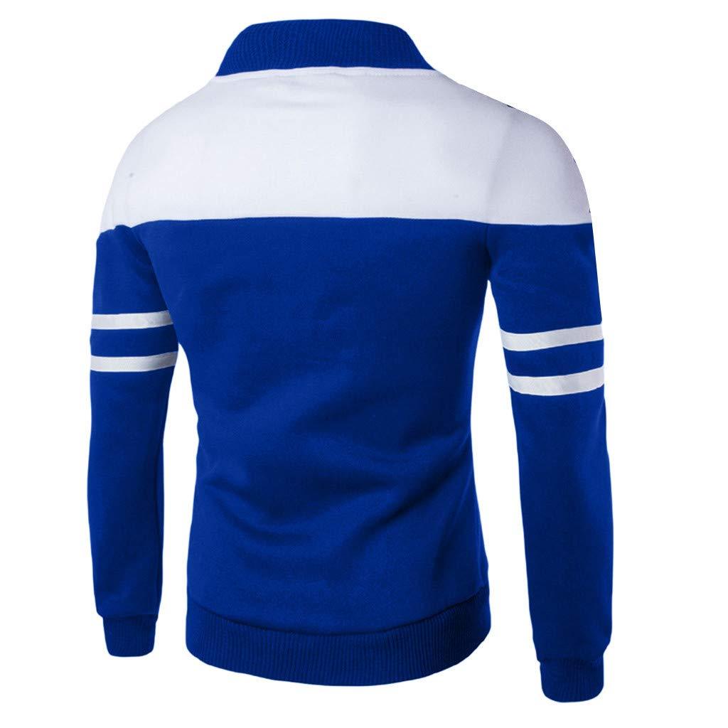 haoricu Mens Sportswear Outwear Long Sleeve Slim FIt Zipper Swetshirt Teen Boy Student Jacket Coat