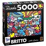 Romero Britto Garden Puzzle 5000 Pieces