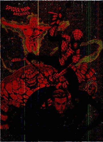 Fantastic Four Foil - 2009 Spider-Man Archives Foil #66 Fantastic Four