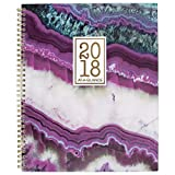 """AT-A-GLANCE Weekly / Monthly Planner, January 2018 - December 2018, 8-1/2"""" x 11"""", Agate (1053-905)"""
