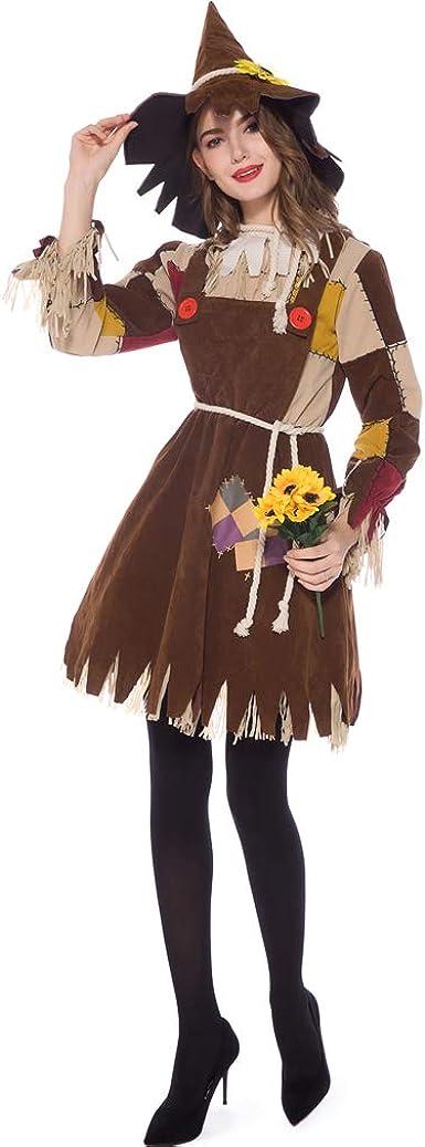 Shangrui Disfraz de Halloween Disfraz de Espantapájaros: Amazon.es ...