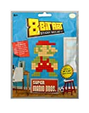 Licensed 2 Play Nintendo 8 Bit Large Super Mario-Blue Bag Paper Pixel Sticky Note Art