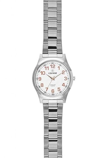 Colmar analógico-1668 Reloj hombre de pulsera analógico: Amazon.es: Relojes