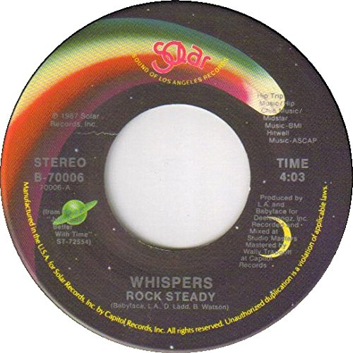 The Whispers - Rock Steady/are You Going My Way - Zortam Music
