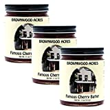 Brownwood Acres Famous Cherry Butter - 3 PACK - Shipping Included