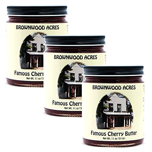 Brownwood Acres Famous Cherry Butter - 3 PACK - Shipping Included by Brownwood Acres-