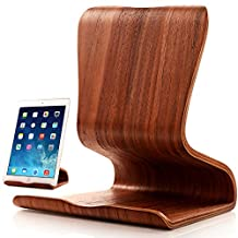 "First2savvv MT-YZ-A01 High Gloss quality hard basswood docking Station and Dock desktop stand for iPad Air 2 iPad mini 3 Samsung Galaxy Tab PRO 12.2 Galaxy NotePRO 12.2"" Tablet - 32 GB sony Z3 Tablet compact Huawei MediaPad T1 8.0 MediaPad M1 8.0"