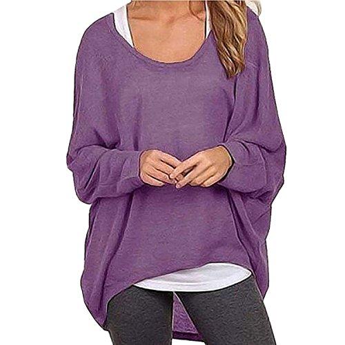 Leezeshaw - Camisas - para mujer morado