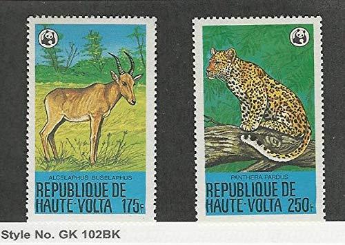 Burkina Faso, Postage Stamp, 510-511 Mint NH, 1979 WWF Animal Panther, JFZ