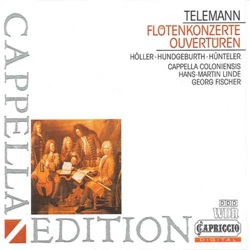 Telemann: Flute Concerto / Overtures (Telemann Flute)