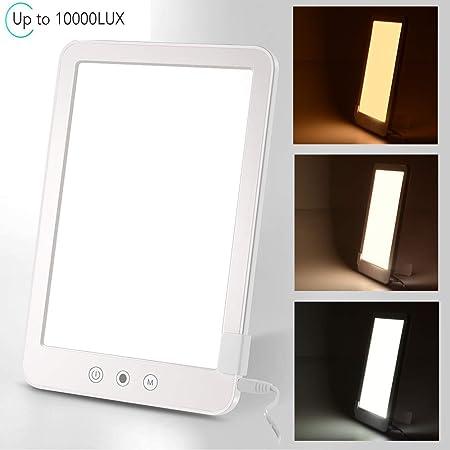 WIVION Lámpara de Terapia de luz 10,000 Lux, Lámpara Sad Caja de ...