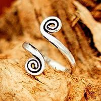 anello di punta - anello d'argento della punta - adjusable punta anello - accessori del piede - anello del piede - gioielli piedi - l'anello della punta della pietra preziosa - gioielli d'estate - gioielli in spiaggia - anello d'argento knuckle - Anello in argento midi
