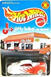 Hot Wheels – Special Edition – Jiffy Lube Series – Tail Dragger (Orange & White) Limited Edition 1:64 Scale Collectible Die Cast Car