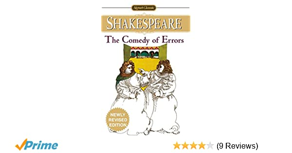 when was comedy of errors written