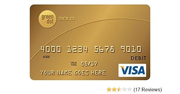 Reloadable Prepaid Cards >> Green Dot Reloadable Prepaid Visa