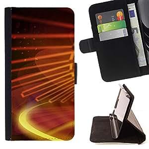 Momo Phone Case / Flip Funda de Cuero Case Cover - Galaxia digital - HTC One Mini 2 M8 MINI