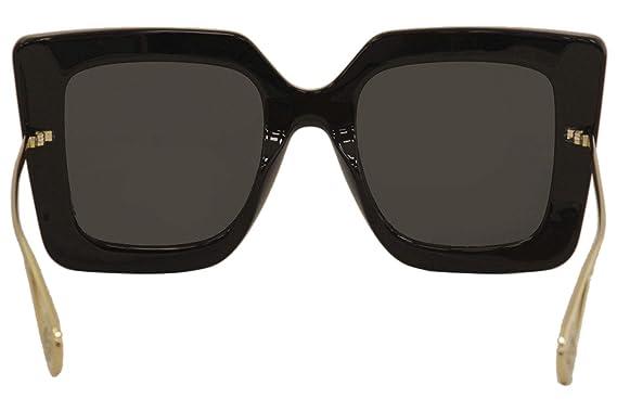 Amazon.com: Gucci GG0435S 001 - Gafas de sol cuadradas ...