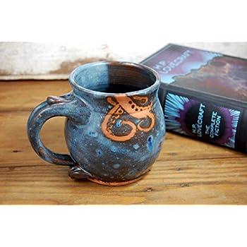 Tentacle Mug in Slate Blue