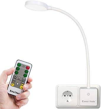 2x DEL Lampadaire Liseuse Variateur Mobilier Lampe flexible liseuse chambre salon