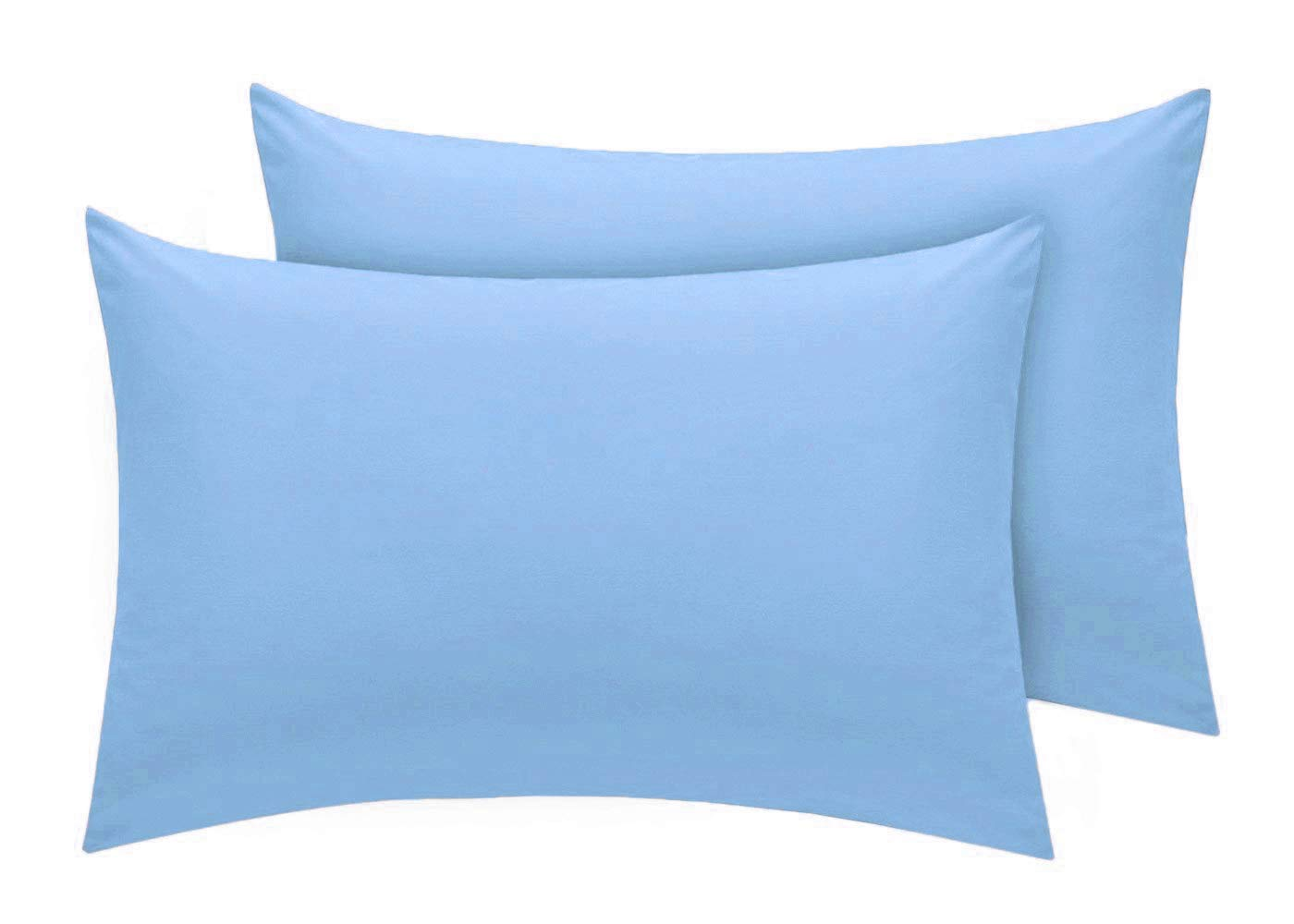 Comfy Nights Pollycotton Pair Of Pillow cases - Black Home Tex Ent