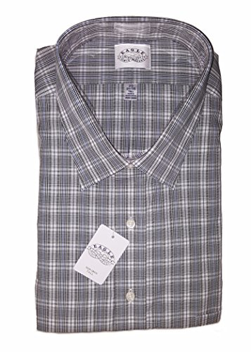 Eagle Shirtmakers Tall Non-Iron Dress Shirt, Checkers for sale  Delivered anywhere in USA