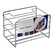 Organized Living Kitchen Wrap Organizer, Nickel
