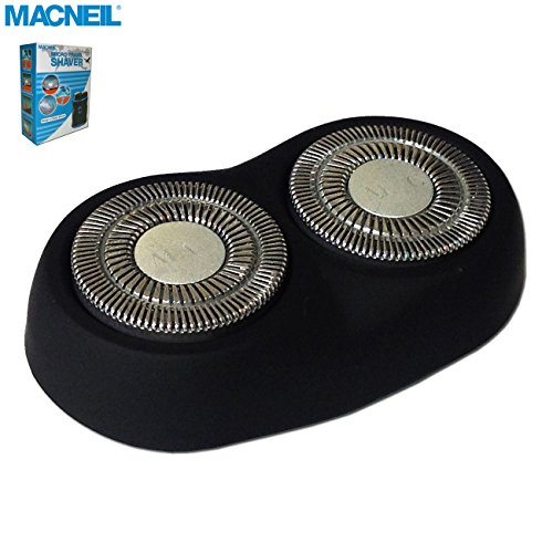Macneil MCNSH2 Shaving Head Unit Spare Part - For use With Macneil MCNBA737/P Micro Travel Shaver - Essential Spare Part When Travelling! (Parts Essential)