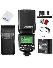 Godox V860II-S TTL 2.4G 1/8000s HSS GN60 Camera Flash Speedlite with 2000mAh Li-ion Battery for Sony A7 A7R A7S A7II A7RII A58 A99 A6000 A6300