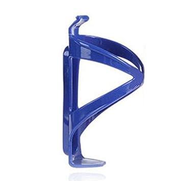 Soporte de plástico para bicicleta de montaña, para deportes al aire libre, bicicleta, botella de agua, portavasos, jaula, azul: Amazon.es: Deportes y aire ...