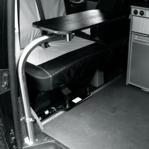 Soporte para mesa giratoria para furgoneta VW T5 (mesa y tornillos ...