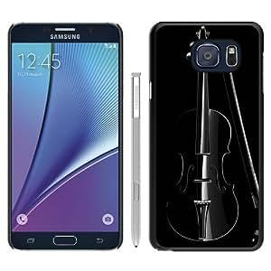 Elegant Cello Macro In Dark Black Special Custom Picture Design Samsung Galaxy Note 5 Phone Case