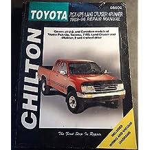 1989-1996 CHILTON TOYOTA PICK-UPS, LAND CRUISER, 4RUNNER REPAIR MANUAL (225)