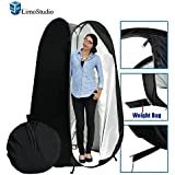 LimoStudio 6 feet Portable Indoor Outdoor Camping Photo Studio Pop up Changing Dressing Tent Fitting Room with Carrying Case, Foldable into Carry Bag, AGG348