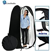 Limo6 Ft. Portable Indoor Outdoor Camping Photo Pop Up Changing Dressing Tent Fitting Room With Carrying Case