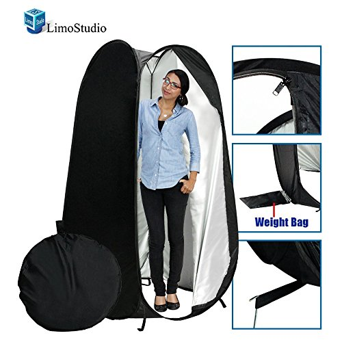 LimoStudio 6 feet Portable Indoor Outdoor Camping Photo Studio Pop up Changing Dressing Tent Fitting Room with Carrying Case, Foldable into Carry Bag, AGG348 by LimoStudio