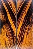 Bookmatched Ironwood Knife Scales – Knife Makers