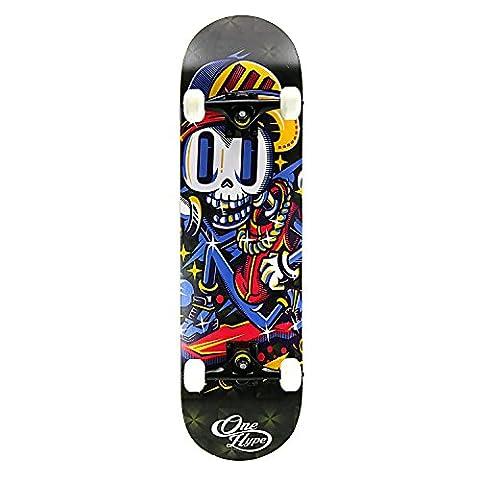 OneHype - Pro Complete Skateboard Bone Skater, 31