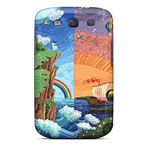 For Baopugb3742lTNNM Fantasy Natuure Protective Skin/For Case Iphone 4/4S Cover